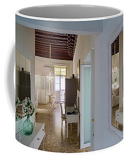 Coffee Mug featuring the photograph Apartment In The Heart Of Cadiz Spain by Pablo Avanzini