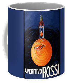 Aperitivo Rossi - Alcoholic Beverages - Vintage Advertising Poster Coffee Mug