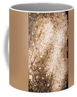 Apophyllite Mineral Background Coffee Mug