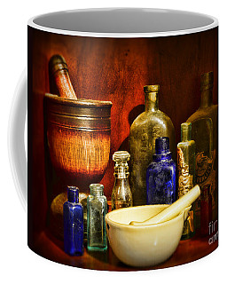 Apothecary - Tools Of The Pharmacist Coffee Mug
