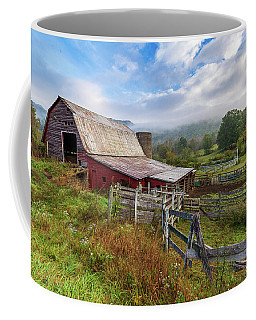 Appalachian Barn Coffee Mug