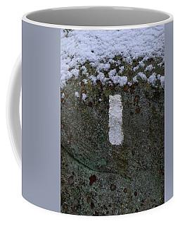Appalachian Trail Blaze In Ny Coffee Mug