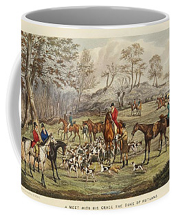 Coffee Mug featuring the painting Apperley, Charles James The Life Of A Sportsman. By Nimrod. by Artistic Panda