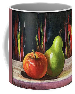 Apple And Pear Coffee Mug