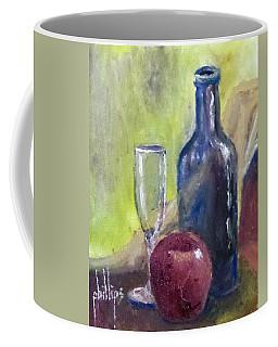 Apple And Wine Coffee Mug by Jim Phillips