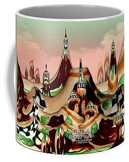 Coffee Mug featuring the photograph Apple Land Countryside by Barbara Tristan