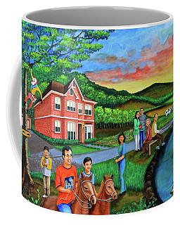 Apple Land Coffee Mug by Lorna Maza