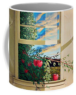 Apple Tree Overflowing Coffee Mug