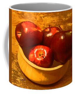Apples In A Bowl Coffee Mug