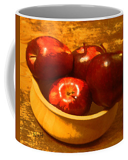 Apples In A Bowl Coffee Mug