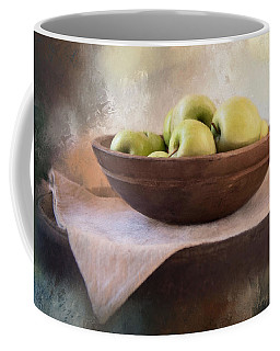 Coffee Mug featuring the photograph Apples by Robin-Lee Vieira