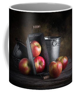Apples With Metalware Coffee Mug