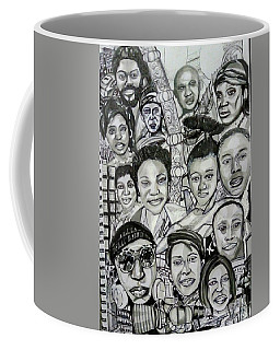Appreciating Some Of The Certainties In My Life - Mark One Coffee Mug by Mudiama Kammoh