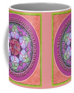 Appreciation Mandala Prayer Coffee Mug