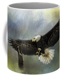 Approaching His Perch Coffee Mug