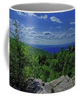 Coffee Mug featuring the photograph Approaching Little Gap On The Appalachian Trail In Pa 2 by Raymond Salani III