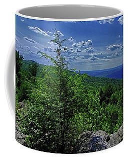 Coffee Mug featuring the photograph Approaching Little Gap On The Appalachian Trail In Pa by Raymond Salani III