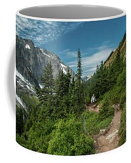 Approaching Sahale Arm Coffee Mug