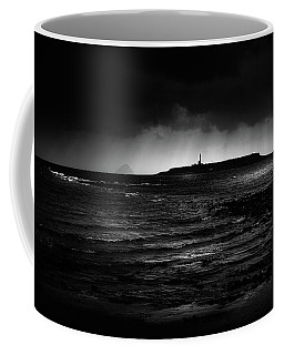 Approaching Storm, Ailsa Craig And Pladda Island Coffee Mug