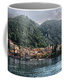 Approaching Varenna Coffee Mug by Jim Hill