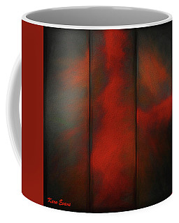 Coffee Mug featuring the digital art Approche2b by Karo Evans