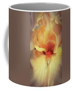 Apricot Iris Coffee Mug