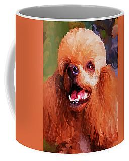 Apricot Poodle Coffee Mug