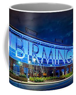 April 2015 -  Birmingham Alabama Baseball Regions Field At Night Coffee Mug