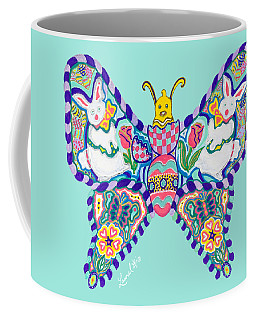 April Butterfly Coffee Mug