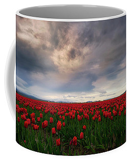 Coffee Mug featuring the photograph April Showers by Ryan Manuel