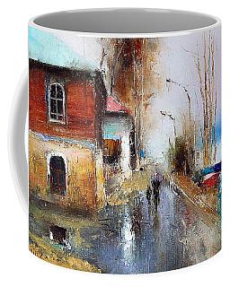 April. The River Volga Coffee Mug