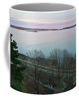 April Twilight On Casco Bay Coffee Mug