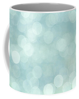 Aqua Abstract Coffee Mug