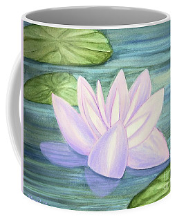 Aqua Bloom Coffee Mug