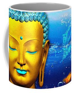 Aqua Buddha Coffee Mug
