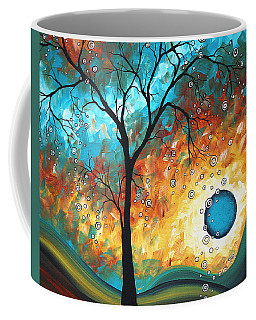 Aqua Burn By Madart Coffee Mug