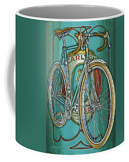Aqua Carlton Fixed Coffee Mug
