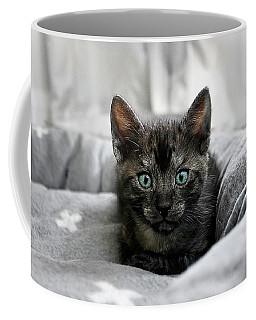 Aqua Eyes By Kaye Menner Coffee Mug