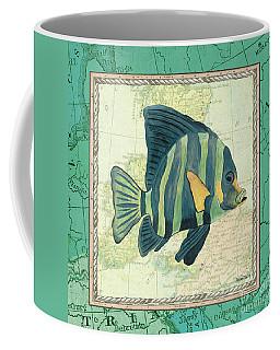 Aqua Maritime Fish Coffee Mug