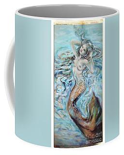 Aqua Mermaid Natural Coffee Mug