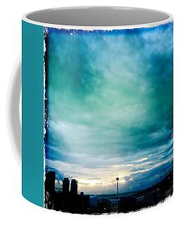 Aqua Needle Coffee Mug