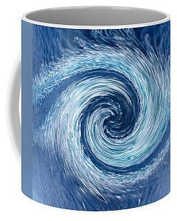 Aqua Swirl Coffee Mug