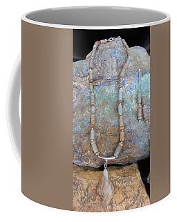 Aqua Terra Jasper #s51 Coffee Mug by Barbara Prestridge