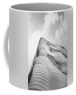 Aqua Tower Coffee Mug
