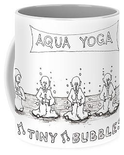 Aqua Yoga Coffee Mug
