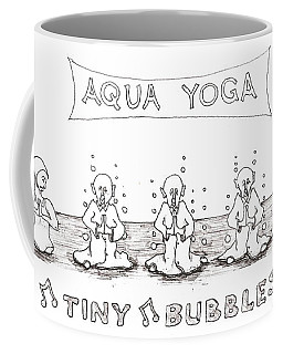 Aqua Yoga Coffee Mug