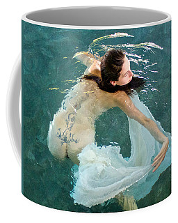 Aquadance Water Ballet Coffee Mug by Venetia Featherstone-Witty