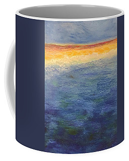 Coffee Mug featuring the pastel Aquamarine by Norma Duch