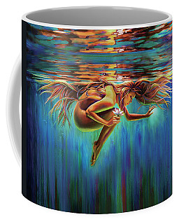 Aquarian Rebirth II Divine Feminine Consciousness Awakening Coffee Mug