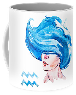 Aquarius Coffee Mug